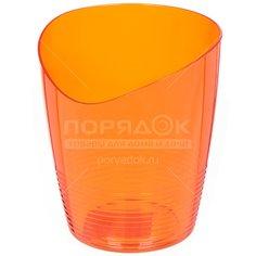 Горшок для цветов пластиковый Для орхидеи Mia апельсин, 0.8 л