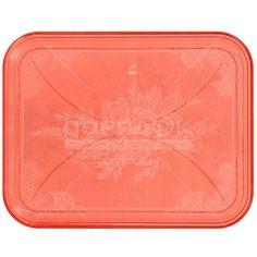 Поднос пластиковый, 45.5х35.5 см, Милих 02061