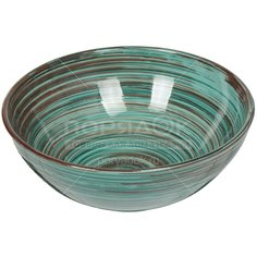 Салатник керамический, 225 мм, Скандинавия Удачный СНД00009106 Борисовская керамика