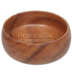 Салатник деревянный, 100х40 мм, Oriental way Калабаш WD-32901