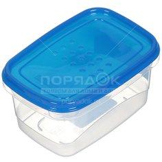 Контейнер пищевой пластмассовый Plast team PatternFlex PT1131, 0.6 л