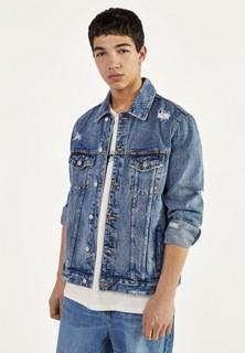 Куртка джинсовая Bershka