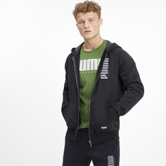 Толстовка Athletics FZ Hoody FL Puma