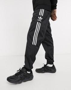 Черные джоггеры с логотипом adidas Originals-Черный