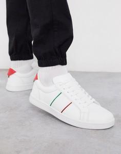 Белые кроссовки в полоску Loyalty & Faith-Белый