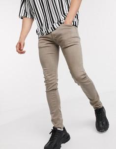 Бежевые джинсы скинни Replay-Светло-бежевый
