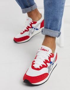 Бело-красные кроссовки Asics Tarther-Белый