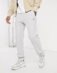 Серые джоггеры с манжетами Champion-Серый