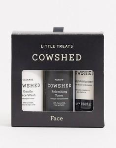 Дорожный набор средств по уходу за кожей лица Cowshed Little Face Treats-Бесцветный