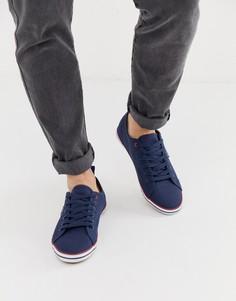 Темно-синие кеды на шнуровке Ben Sherman-Темно-синий
