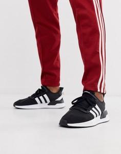 Черные кроссовки adidas Originals U-Path Run-Черный