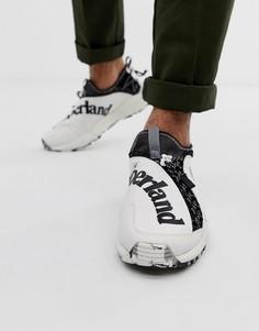 Белые походные кроссовки из ткани рипстоп Timberland-Белый
