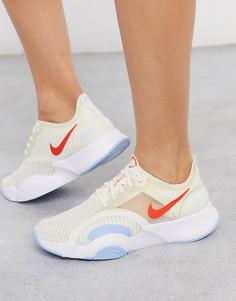 Белые кроссовки Nike Training-Белый