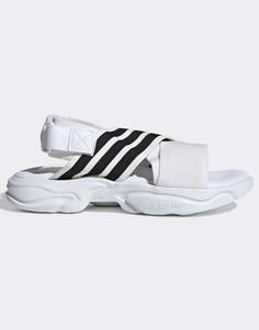 Белые сандалии adidas Originals Magmur-Белый