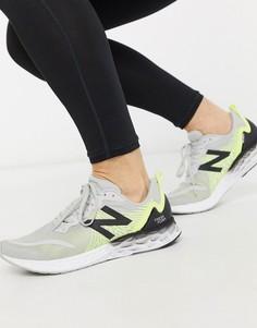 Серые кроссовки New Balance Running Freshfoam Tempo-Серый