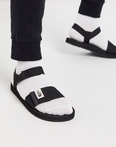 Черные сандалии The North Face-Черный
