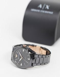 Черные наручные часы Emporio Armani AR70003-Черный