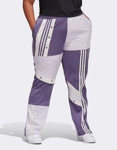 Фиолетовые спортивные брюки adidas Originals Plus x Danielle Cathari Plus-Фиолетовый