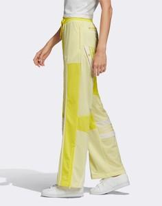 Желтые спортивные штаны adidas Originals x Danielle Cathari-Желтый
