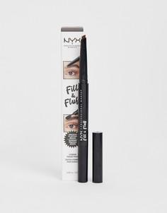 Карандаш для бровей NYX Professional Makeup-Черный
