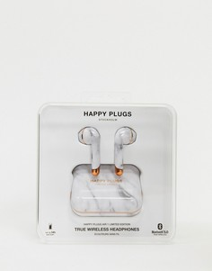 Беспроводные наушники ограниченной серии с мраморным принтом Happy Plugs air 1-Бесцветный Fresh N Rebel
