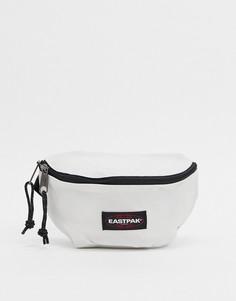 Белая сумка-кошелек на пояс Eastpak-Белый