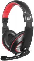 Игровые наушники Oklick HS-L390G Black/Red