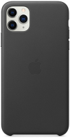 Чехол Apple Leather Case для iPhone 11 Pro Max Black (MX0E2ZM/A)