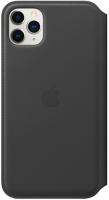 Чехол Apple Leather Folio для iPhone 11 Pro Max Black (MX082ZM/A)