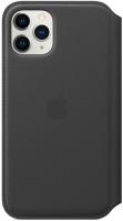 Чехол Apple Leather Folio для iPhone 11 Pro Black (MX062ZM/A)