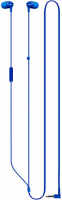 Наушники с микрофоном Philips SHE3555 Blue