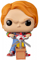 Фигурка Funko POP! Vinyl: Horror: Chucky w/Buddy&Giant Scissors (44836IE)