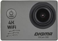 Экшн-камера Digma DiCam 300 Grey