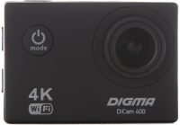 Экшн-камера Digma DiCam 400 Black
