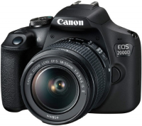 Зеркальный фотоаппарат Canon EOS 2000D EF-S 18-55 IS II KIT