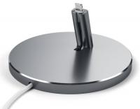 Док-станция Satechi Aluminum Desktop Charging Stand Lightning для Apple iPhone Space Gray (ST-AIPDM)