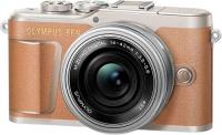 Системный фотоаппарат Olympus E-PL9 Brown + 14-42mm EZ Silver (V205092NE000)