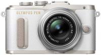Системный фотоаппарат Olympus PEN E-PL8 White 14-42 II R Silver