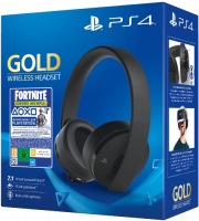 Игровые наушники PlayStation Gold Wireless Headset + Fortnite (CUHYA-0080)