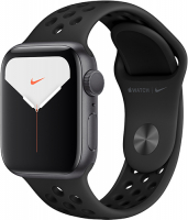 Смарт-часы Apple Watch S5 Nike+ 40mm Space Grey Sport Band (MX3T2RU/A)