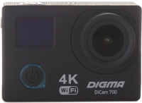 Экшн-камера Digma DiCam 700 Black