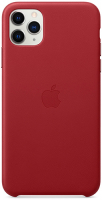 Чехол Apple Leather Case для iPhone 11 Pro Max (PRODUCT)RED (MX0F2ZM/A)