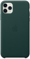 Чехол Apple Leather Case для iPhone 11 Pro Max Forest Green (MX0C2ZM/A)
