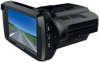 Автомобильный видеорегистратор с радар-детектором Digma DCD-300 Combo GPS
