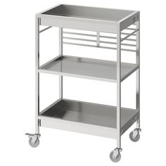 IKEA - КУНГСФОРС Столик с колесами ИКЕА