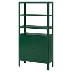 IKEA - КОЛЬБЬЁРН Стеллаж с 1 шкафчиком ИКЕА