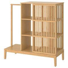 IKEA - НОРДКИЗА Открытый гардероб/раздвижная дверь ИКЕА