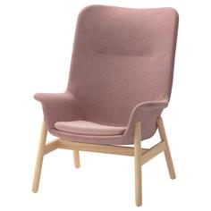 IKEA - ВЕДБУ Кресло c высокой спинкой ИКЕА