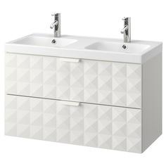 IKEA - ГОДМОРГОН / ОДЕНСВИК Шкаф для раковины с 2 ящ ИКЕА