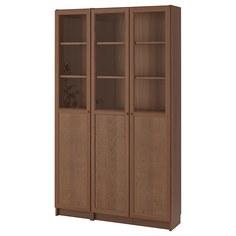 IKEA - БИЛЛИ / ОКСБЕРГ Стеллаж/панельные/стеклянные двери ИКЕА